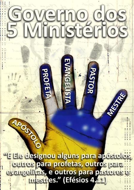 OS CINCOS  MINISTÉRIOS